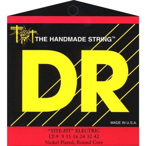 DR Strings LT9 Lite-n-Tite Tite Fit Electric Guitar Strings LT9