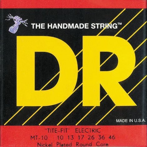 DR Strings MT10 Medium-Tite Tite Fit Electric Guitar Strings MT10