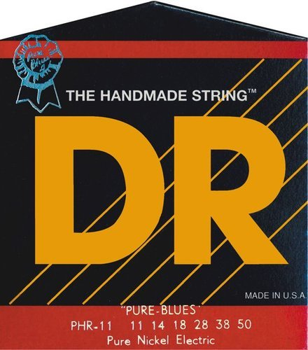 DR Strings PHR11 Heavy Pure Blues Heavy Electric Guitar Strings PHR11