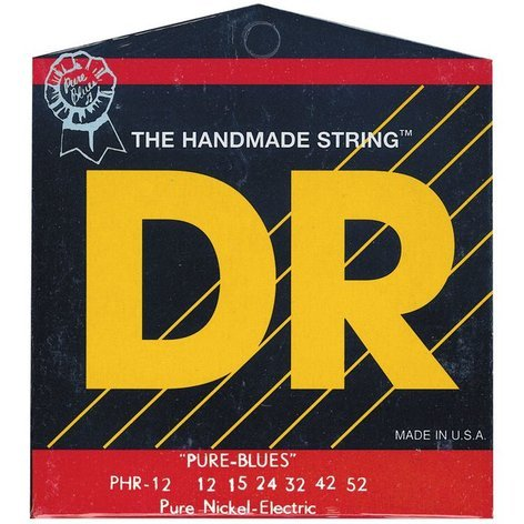 DR Strings PHR12 Extra Heavy Pure Blues Electric Guitar Strings PHR12
