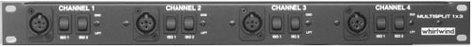 Whirlwind MLTSP1X3  Mic Splitter 4chl 1x3  MLTSP1X3