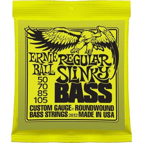 Ernie Ball P02832 Regular Slinky Electric Bass Strings P02832