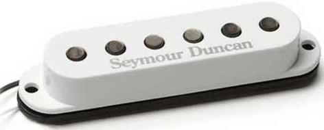Seymour Duncan SSL-3 Hot Strat w/White Cover Single-Coil Guitar Pickup, Hot Strat w/White Cover SSL-3