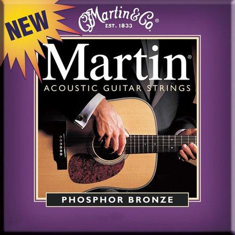 Martin Strings M535 Custom Light Phosphor Bronze Acoustic Guitar Strings M535