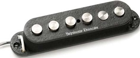Seymour Duncan SSL-7 Quarter Pound Staggered Strat Single-Coil Guitar Pickup, Quarter Pound Staggered Strat SSL-7