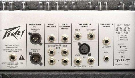 """Peavey KB5 Keyboard Amp Keyboard Amp 5 Channel 150W 2x10"""" Speakers w/Horn KB5"""