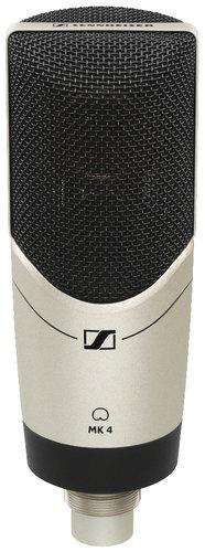 sennheiser mk4 large diaphragm cardioid condenser microphone full compass systems. Black Bedroom Furniture Sets. Home Design Ideas