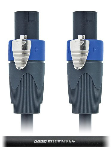 Cable Up by Vu SPK12/2-SS-3 3 ft 12AWG Speaker Twist to Speaker Twist Speaker Cable SPK12/2-SS-3