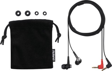 Roland CS-10EM Binaural Microphone/Earphones for R Series Recorders CS-10EM