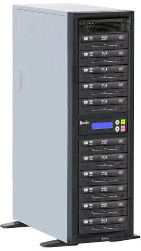 Recordex USA Inc. BD1100 BD/CD/DVD Writer, 500 GB HD, 11 Target Drives BD1100