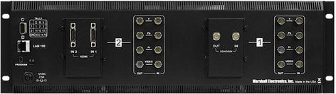 """Marshall Electronics V-MD702 3RU 2x7"""" MD Series Rack Monitor Unit with Composite Inputs V-MD702"""