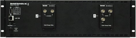"Marshall Electronics V-MD72 3RU 2x7"" MD Series LED-Backlit Rack Monitor Unit V-MD72"