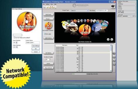 Microboards PRINTWRITE-2 Disc Publishing Software PRINTWRITE-2