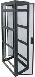 """Middle Atlantic Products WMRK-4236SVR  42-Space, 36"""" D Configured WMRK Rack with Sides WMRK-4236SVR"""
