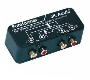 JK Audio PUR Stereo Isolation Transformer PUR