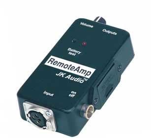 JK Audio RAMP Headphone/Earpiece Amplifier RAMP