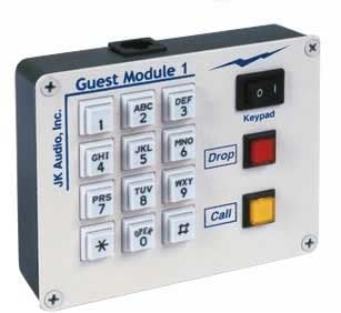 JK Audio GM1 Guest Module 1 Remote Keypad for JK Audio Innkeeper Telephone Interfaces