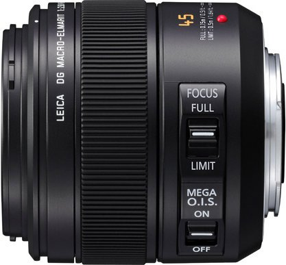 Panasonic HES045 Leica DG Macro-Elmarit 45mm/F2.8 ASPH. / MEGA O.I.S. Lens HES045