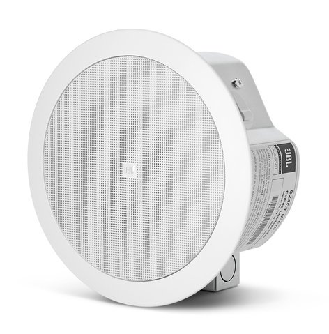 """JBL Control 24CT Micro 4"""" Ceiling Speaker with 70V/100V Transformer in White CONTROL-24CT-MICRO"""