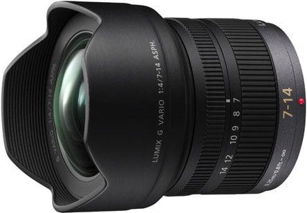 Panasonic H-F007014 Lumix G Vario 7-14 mm/F 4.0 ASPH. Micro 4/3 Digital Interchangeable Lens HF007014