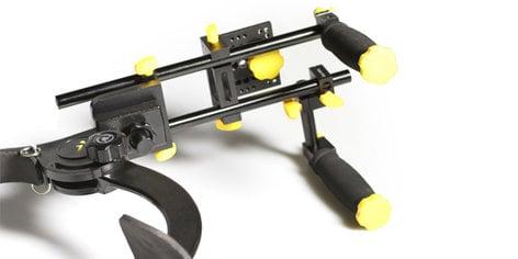 ikan Corporation ELE-RECOIL-XT  Cam Shoulder Support w/RailSys  ELE-RECOIL-XT