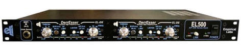 Empirical Labs, Inc DS-DUO Combo, EL500 rack system with 2 ELDS-H modules installed DS-DUO