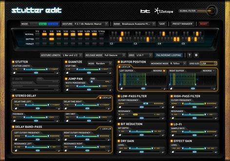 iZotope Stutter Edit Live Remixing/Sampling Software (Electronic Delivery) STUTTER-EDIT
