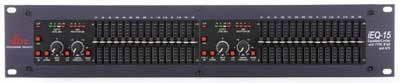 DBX IEQ15 Graphic EQ Dual 15-Band with AFS IEQ15