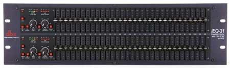 DBX IEQ31 Graphic EQ Dual 31-Band with AFS IEQ31
