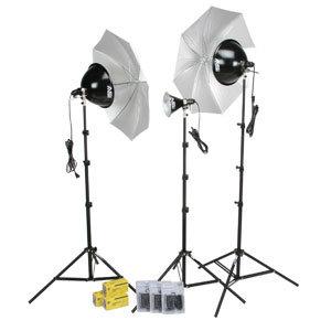 Smith Victor Corp KT800U 1250W Advanced 3-Light Kit (401434) KT800U