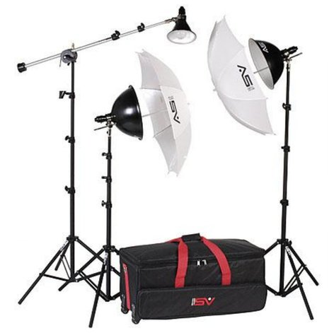 Smith Victor Corp KT900 Essential Advanced 3-Light Kit, 1250W (401436) KT900