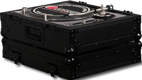 Odyssey FZ1200BL  Black Label Series Single Turntable Case for Technics Style 1200 Series Turntables FZ1200BL