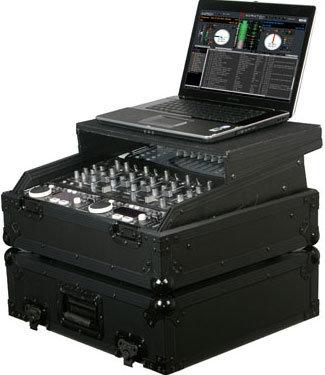 "Odyssey FZGS10BL  Black Label Series 19"" W, 10 RU Rack-Mount Mixer Case FZGS10BL"