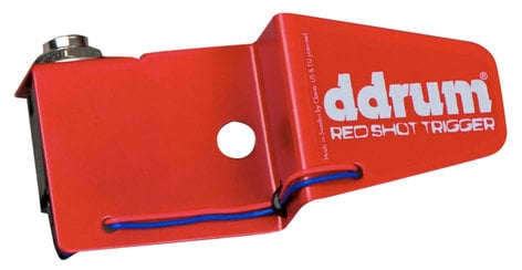 """ddrum REDSHOT-S/T Snare Drum / Tom Trigger with 1/4"""" Connection REDSHOT-S/T"""