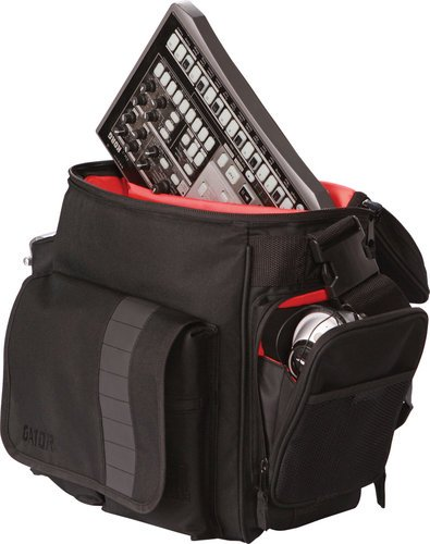 Gator Cases G-CLUB-DJ-BAG  DJ Bag for LP's and Serato Interface G-CLUB-DJ-BAG