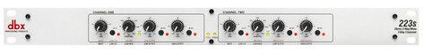 DBX 223s Stereo 2-way/Mono 3-way Crossover 223S