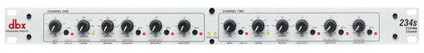 DBX 234S s Stereo 2 Way / 3 Way / Mono 4 Way Crossover 234S