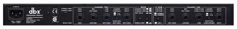 DBX 234Ss Stereo 2 Way / 3 Way / Mono 4 Way Crossover 234S