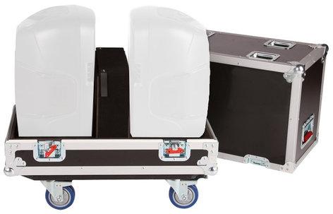 """Gator G-TOUR-SPKR-212 Tour Style Transporter Case for Two 12"""" Speakers G-TOUR-SPKR-212"""