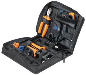Paladin Tools 906003  12-Piece CoaxReady™ Compression Toolkit with Zippered Case 906003