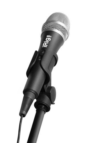 IK Multimedia iRig MIC Handheld Condenser Microphone for iPhone/iPhone/iPod IRIG-MIC