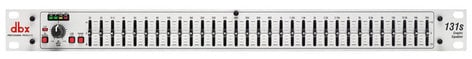 DBX 131s Single 31-Band Channel 1/3 Octave Graphic Equalizer 131S