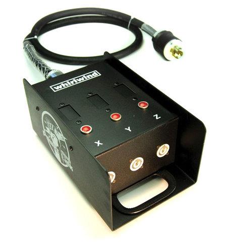 Whirlwind PL1DI-L2120-010 Power Link Distro with L21-20 NEMA to (3) 20A PL1DI-L2120-010