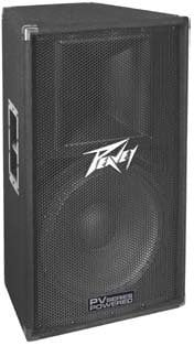 """Peavey PV115D 400W Powered PV Series Loudspeaker with 1x 15"""" Woofer PV115D"""