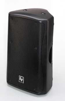 """Electro-Voice ZX5-60W 15"""" 2-way Passive 60°x60° 600W Speaker System, White (Black shown) ZX5-60W"""