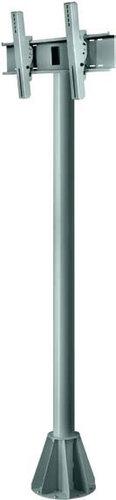 "Peerless EPMU-05-S 5 ft. Gray Universal Wind-Rated Outdoor Pedestal Mount for 32""-65"" Flat Screen Panels EPMU-05-S"