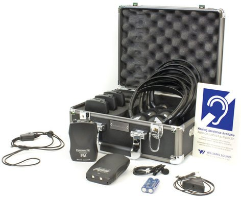 Williams Sound FM-ADA-KIT-37  Portable Listening System, ADA  FM-ADA-KIT-37