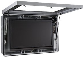 """Peerless FPE47F-S  Indoor/Outdoor Protective LCD Enclosure with Cooling Fans for 46""""-47"""" Screens FPE47F-S"""