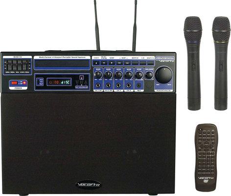 VocoPro DVD-SOUNDMAN-1/2 Portable Sound System, 80W, with Bag DVD-SOUNDMAN-1/2