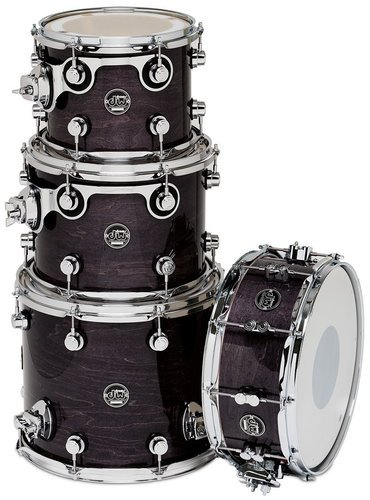 "DW DRPLTMPK04 Performance Series Tom Pack 4 in Lacquer Finish: 10"", 12"", 14"" Toms, 5.5x14"" Snare Drum DRPLTMPK04"
